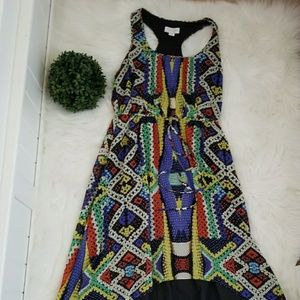 Jessica Simpson High Low Maxi Dress Size Medium